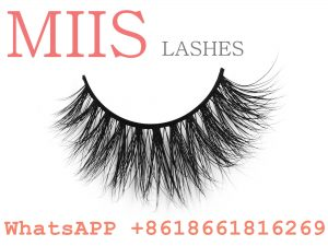 woman custom mink eyelashes
